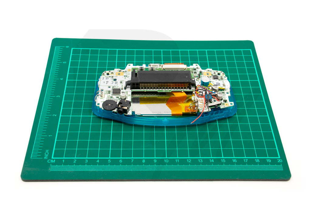 GBA with PCB and AGS-101 inserted