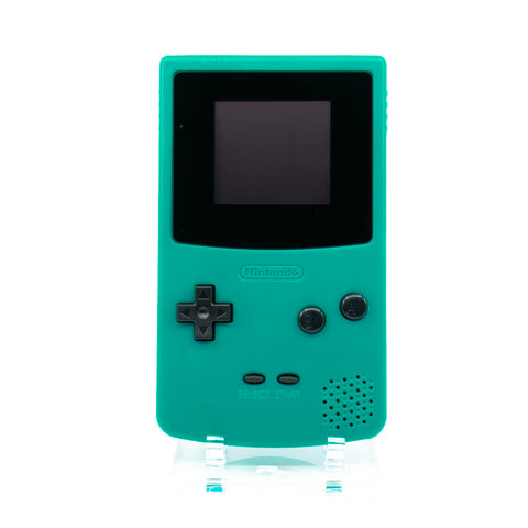 Backlit CGB - Teal Shell, Black Buttons and Lens