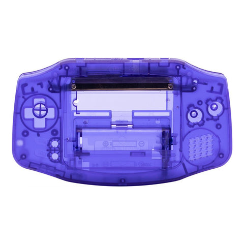 Clear Purple (Midnight Blue) Game Boy Advance Shell