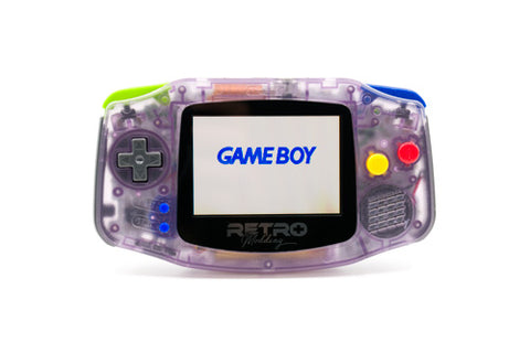 AGS-101 Modded GBA - Atomic Purple