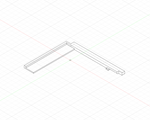 Game Boy Advance IPS LCD Centering Bracket