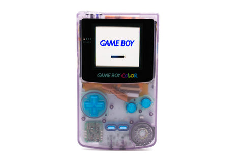 AGS-101 Modded Game Boy Color - Atomic Purple