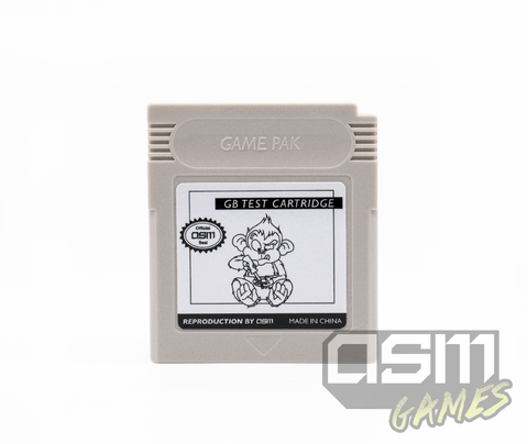 Game Boy Test Cart
