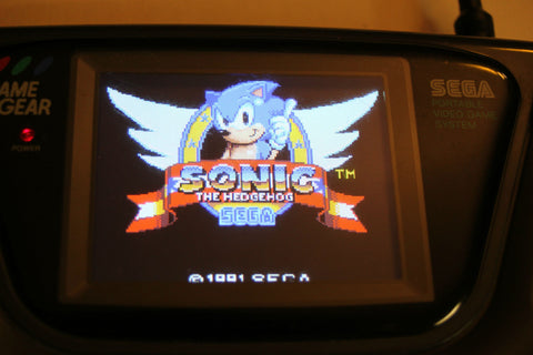 McWill's Sega Game Gear LCD Upgrade