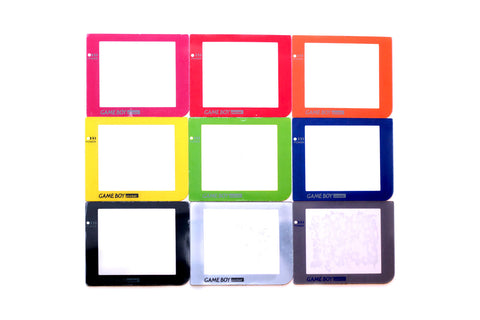 Gameboy Pocket Plastic Screen Lenses