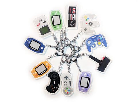 Video Game Consoles / Controllers Keychains