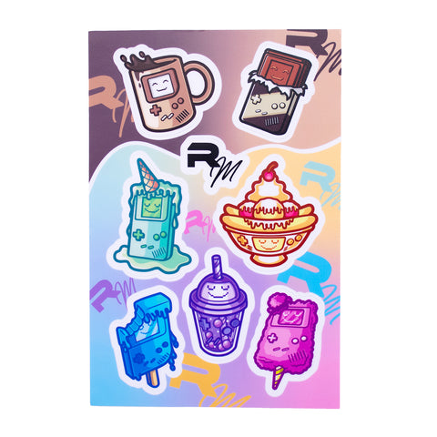 DMG Sweets and Treats Stickers