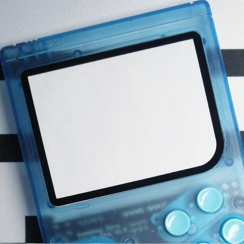 Gameboy Zero Black 3mm Border Glass Screen