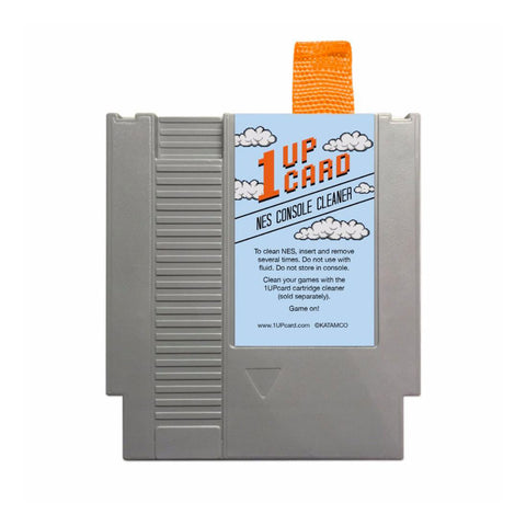 1UPcard NES console cleaner
