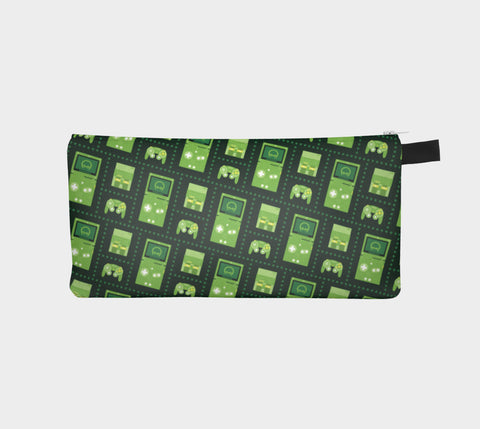 Nintendo Consoles, Metroid Pattern Pencil Case (Green)