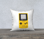 Gameboy Color Pillow (White)