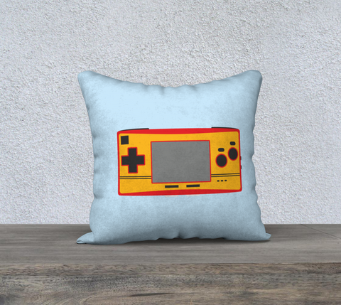 Gameboy Advance Micro Pillow (Light Blue)
