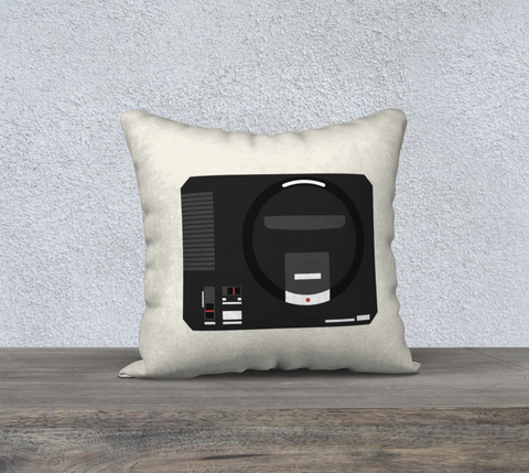 Sega Genesis Pillow (Light Beige)