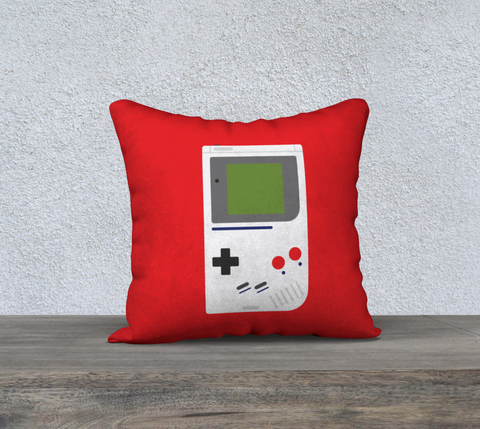 Gameboy Pillow (Red)