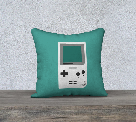 Gameboy Pocket Pillow (Mint)
