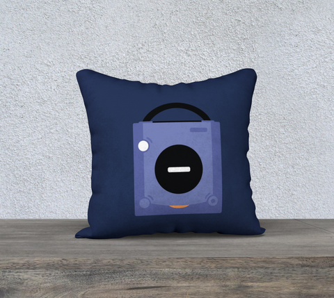 Gamecube Pillow (Deep Blue)