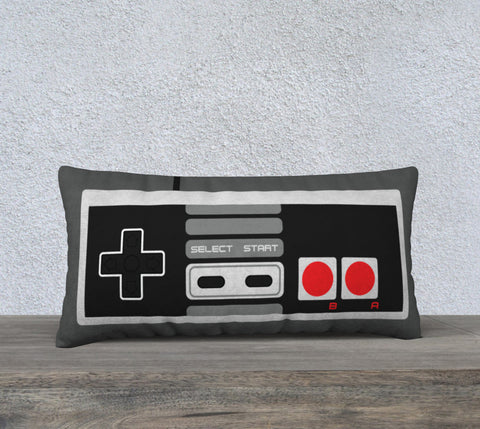 NES Controller Large Pillow