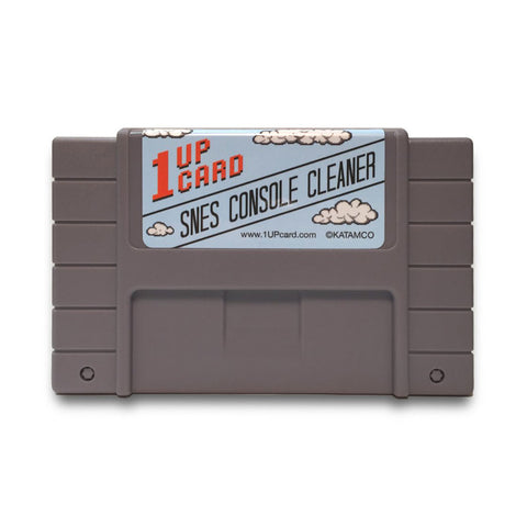1UPcard's SNES console cleaner