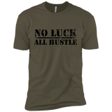 No Luck All Hustle Premium Tee