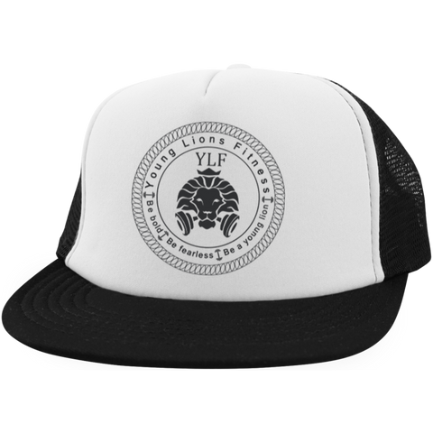 YLF Black and white snapback