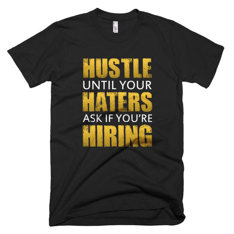 Short sleeve men's Hustle t-shirt