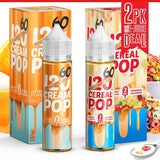 120 CEREAL POP & 120 CREAM POP BUNDLE