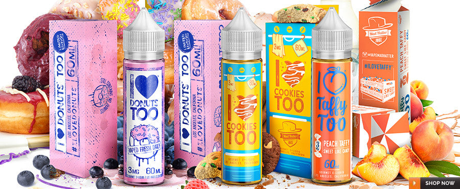 Mad Hatter Juice Brand eJuices