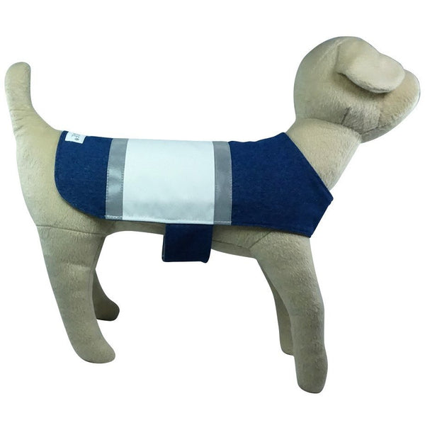 GLOTURE Glow-In-The-Dark GloCoat Stripe Dog Coat - Lavish Pets