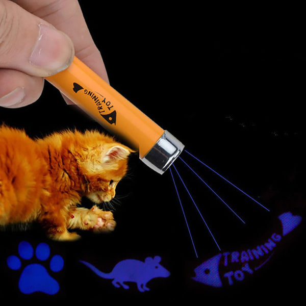Unique LED Toy for Cats in the shape of a Mouse, Paw, or Fish!!! - Lavish Pets