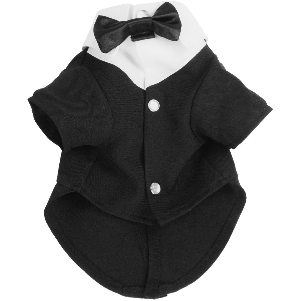 BARK Black & White Tux Shirt
