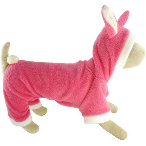 BARK Fleece Bunny Outfit - Lavish Pets