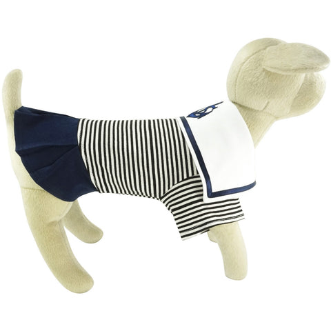 BARK Sailor Dress - Lavish Pets