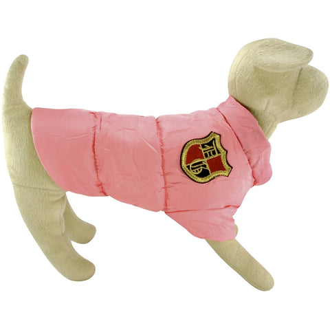 BARK Puffer Jacket with Snaps - Lavish Pets