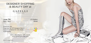 Designer Shopping ann Beauty Day at Gazelli House
