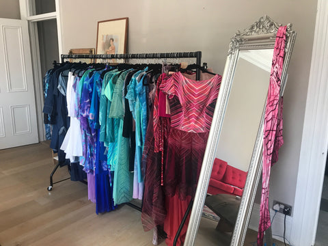 Olya Shishkina Summer Pop Up Showroom Gloucester road London
