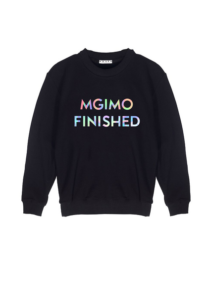 MGIMO FINISHED SWEATSHIRT черный