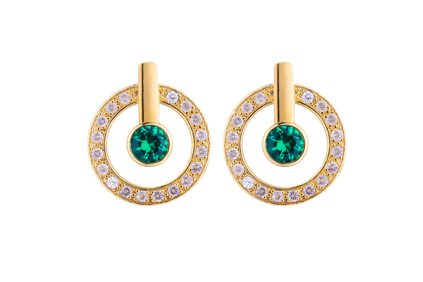 MeMe London Anne Marie Earrings  - Gold