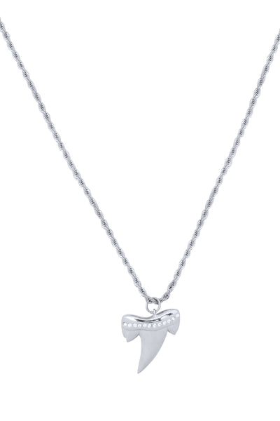 MeMe London Bite Me Silver Necklace