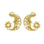 MeMe London Brielle Earrings - Gold
