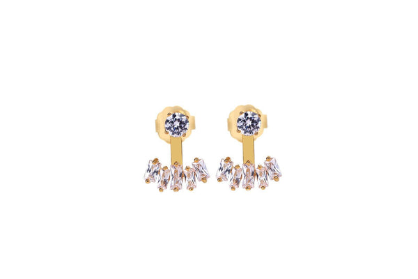 MeMe London Caroline Earrings - Gold