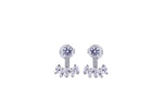 MeMe London Caroline Earrings - White Gold