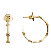 MeMe London Charlotte Earrings - Gold