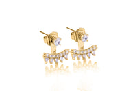 MeMe London Chloe Earrings - Gold