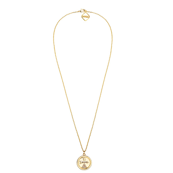 MeMe London Cupid's Bow Necklace - Gold