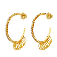 MeMe London Darcy Earrings - Gold