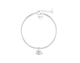 MeMe London EyeShine Choker - White Gold