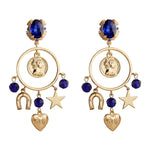 MeMe London Flavie Earrings - Blue
