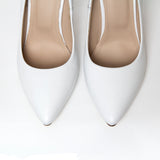 High Heels Shoes Marsala Mistress - White - Size 38