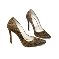 High Heels Shoes Marsala Mistress - Leopard - Size 39