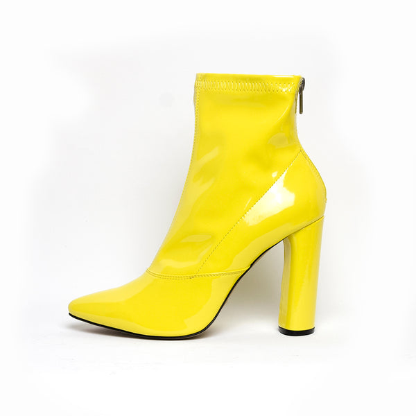 Marsala Ankle Boots Yellow Size 40